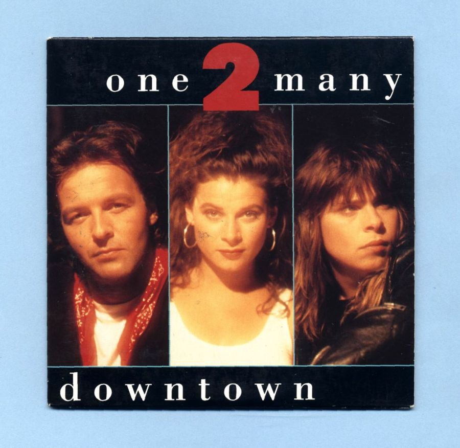 One 2 Many - Downtown  (CD Maxi Single)