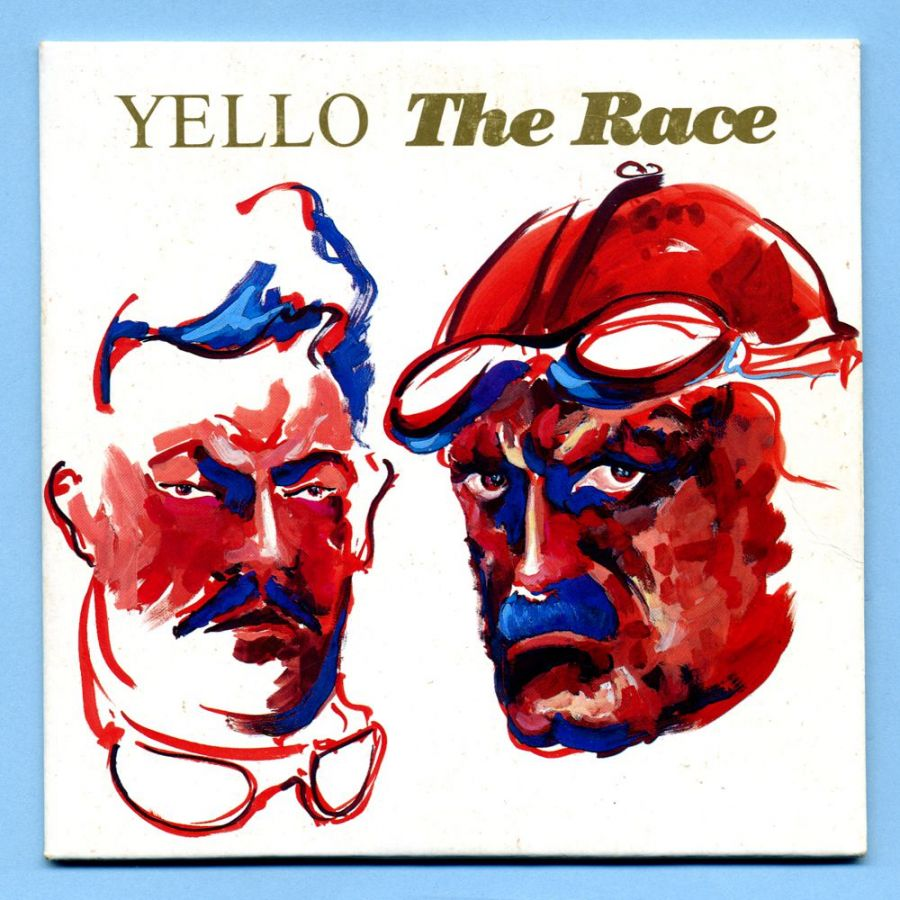 YELLO - The Race (CD Maxi Single) - Pappcover