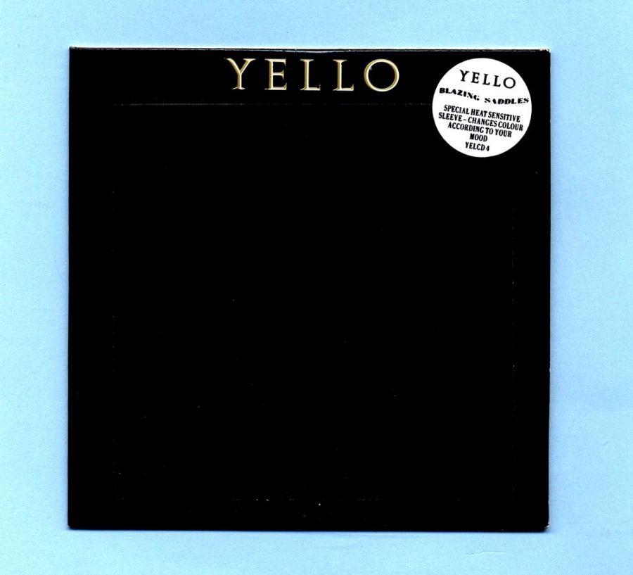 YELLO - Blazing Saddles (UK CD Maxi Single)