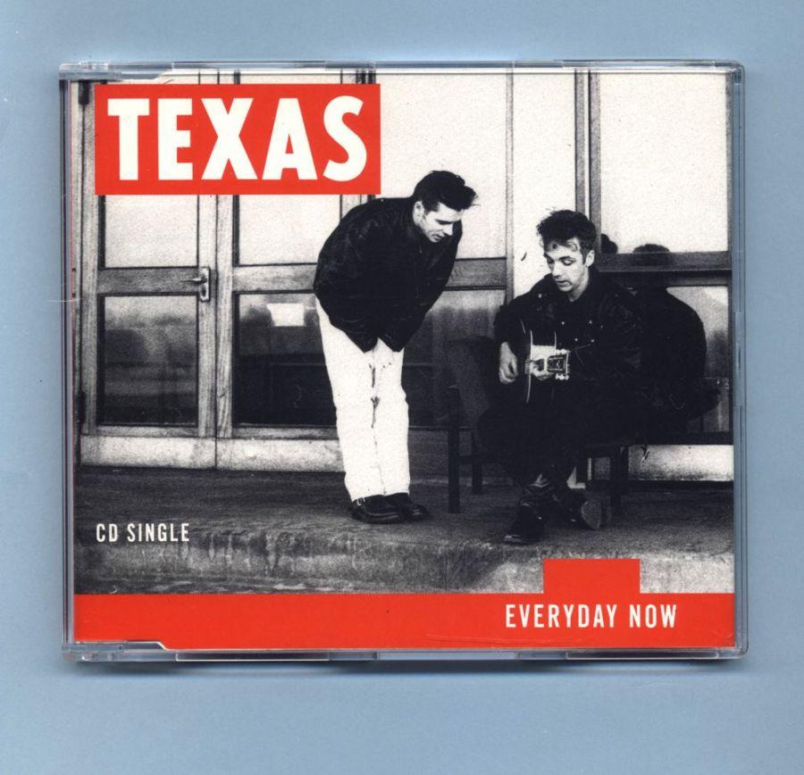 Texas - Everyday Now (CD Maxi Single) - UK