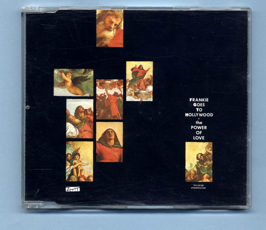 Frankie Goes To Hollywood - The Power Of Love (CD Maxi)