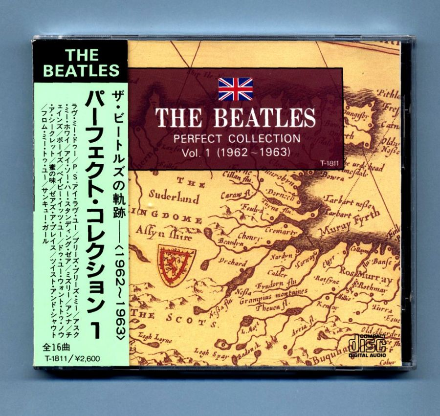 Beatles, The - Perfect Collection 1 (Japan CD Album + OBI)