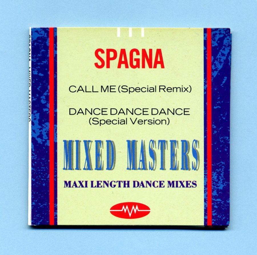 Spagna - Call Me (3 CD Maxi Single) - Mixed Masters