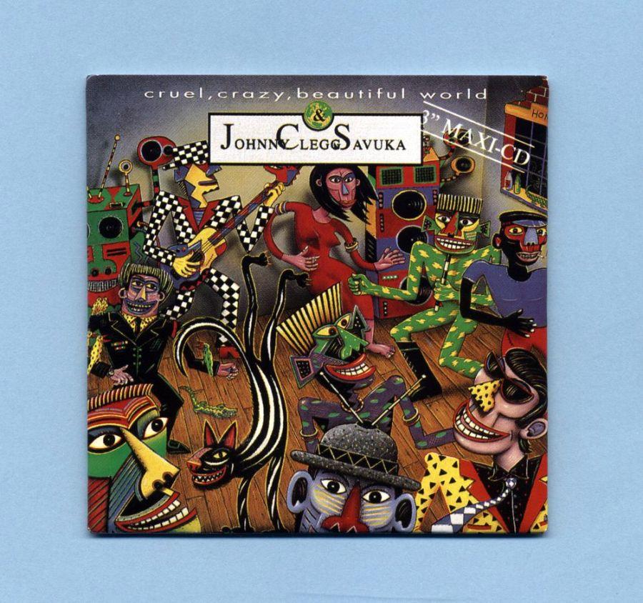 Clegg, Johnny & Savuka - Cruel, Crazy, Beautiful... (3 CD Maxi)