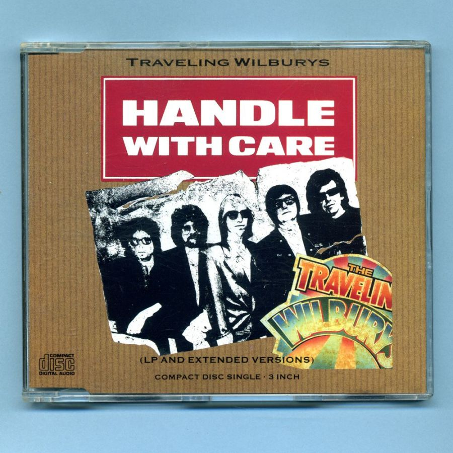 Traveling Wilburys - Handle With Care (3 CD Maxi Single)