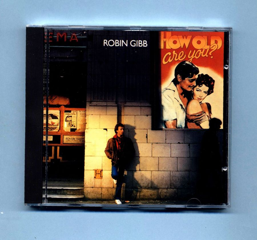 Gibb, Robin (Bee Gees) - How Old Are You? (CD Album)- Red Label