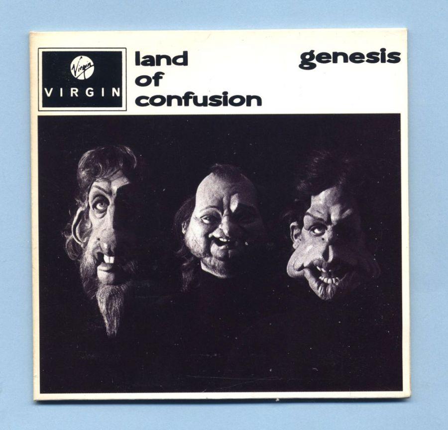 Genesis - Land Of Confusion (UK CD Maxi Single)