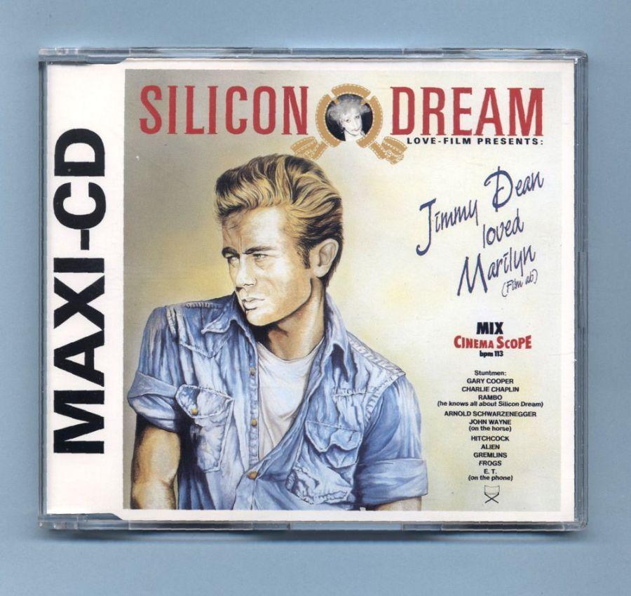 Silicon Dream - Jimmy Dean Loved Marilyn (CD Maxi Single)