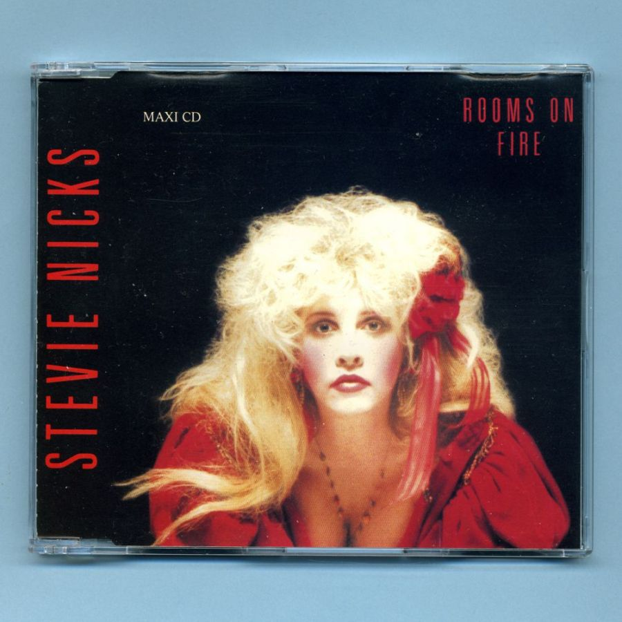 Nicks, Stevie (Fleetwood Mac) - Rooms On Fire (GER CD Picture Maxi)