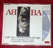ABBA - Lay All Your Love On Me (CD Maxi Single) - slim