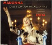 Madonna - Dont Cry For Me Argentina (CD Maxi Single)