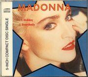 Madonna - Holiday / Everybody (5 CD Maxi Single)