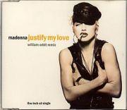 Madonna - Justify My Love (Remix CD Maxi Single)