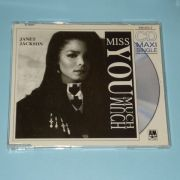 Jackson, Janet - Miss You Much (CD Maxi Single)