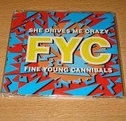Fine Young Cannibals - She Drives Me Crazy (CD Maxi Single)
