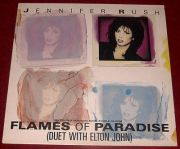 Rush, Jennifer & Elton John - Flames Of Paradise (12 Maxi)