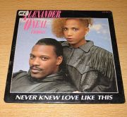 ONeal, Alexander & Cherrelle - Never Knew... (CD Maxi Single)