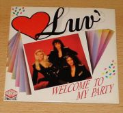 Luv - Welcome To My Party (CD Maxi Single)
