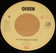 Queen - Las Palabras de Amor (7 Vinyl Single)