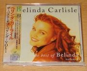 Carlisle, Belinda - The Best Of... Vol. 1 (Japan CD Album + OBI)