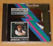 Manilow, Barry - Greatest Hits Vol. 2 (CD Album)