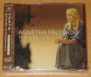 Fältskog, Agnetha (ABBA) - Thats Me (Japan CD Album + OBI)