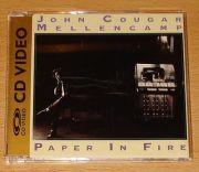 Mellencamp, John Cougar - Paper In Fire (US CD Video Maxi)