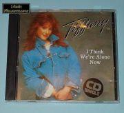 Tiffany - I Think Were Alone Now (UK CD Maxi Single)