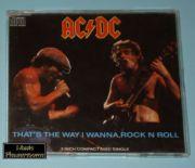 AC/DC - Thats The Way I Wanna Rockn Roll (3 CD Maxi)