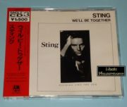 Sting (Police) - We'll Be Together (Japan CD Maxi Single + OBI)