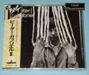Gabriel, Peter - Peter Gabriel II (Japan CD Album + OBI)