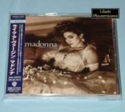 Madonna - Like A Virgin (Japan CD Album + OBI) + Bonus
