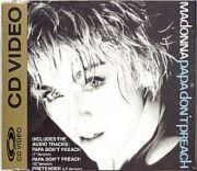 Madonna - Papa Dont Preach (CD Video Maxi)