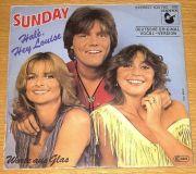 Sunday (Dieter Bohlen) - Halé, Hey Louise (7 Single)