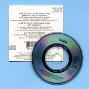 Cher - If I Could Turn Back Time (3 CD Maxi Single)