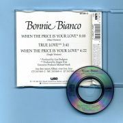 Bianco, Bonnie - When The Price Is Your Love (3 CD Maxi)