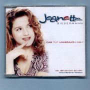 Biedermann, Jeanette - Das tut unheimlich weh (CD Maxi Single)