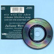 Werding, Juliane - Wie weit ist Eden (3 CD Maxi Single)
