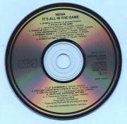 Nena (Spliff) - Its All In The Game (CD Album)