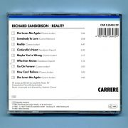 Sanderson, Richard - Reality (CD Album)