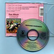 Rosenberg, Marianne (Bohlen) - I Need Your Love... (CD Maxi)